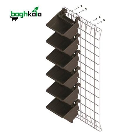 شاسی فولادی دیوار سبز (دو عدد)